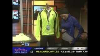 WLOS Winter Running with Sarah Merrell