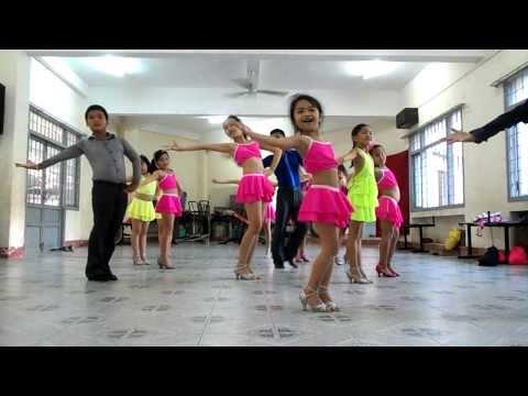 Nhà Thiếu Nhi Phú Yên Basic Cha Cha Cha   Anh Thanh Dancesport