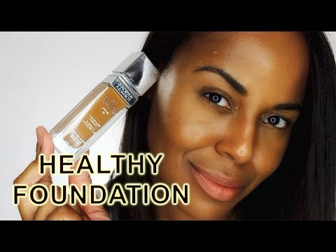 NEW! Physicians Formula The Healthy Foundation DN4 - Dark Neutral Review Video I ByBare
