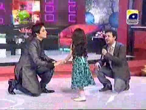 Raheem Shah and Adeela Chohdry At The Sahir Show P-4