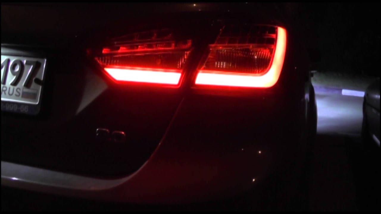Ford focus 3 new led rear lamps for sedan