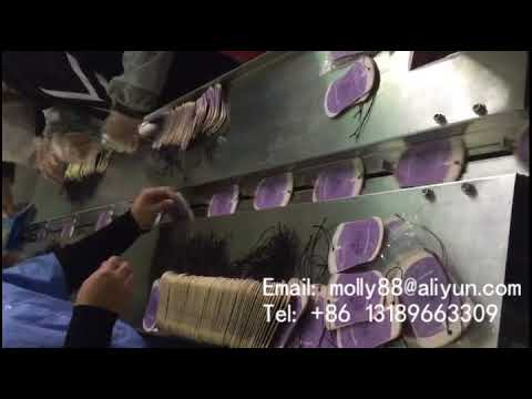Paper car air freshener packing machine