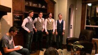Teen Barbershop Quartet Sings a New, Upbeat, Special Happy Birthday Song