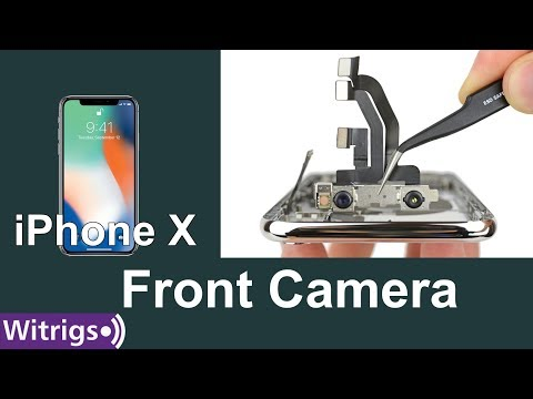 iPhone X Front Camera Replacement - Face Unlock & IR Camera