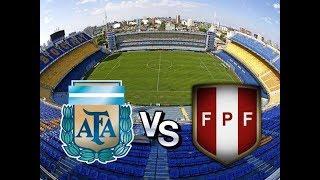Prediksi Petandingan Argentina vs Peru  - 6 Oktober 2017
