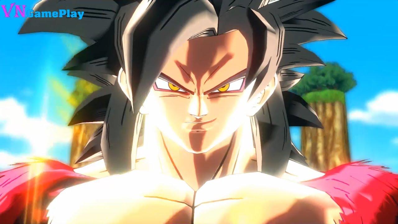 7 Viên Ngọc Rông GT - Goku vs Siêu số 17