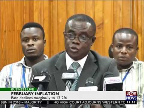 February Inflation - Business Live on Joy News (15-3-17)