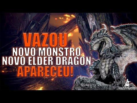 Monster Hunter World - BOMBA, VAZARAM IMAGENS DE UM NOVO DRAGÃO ANCIÃO! thumbnail
