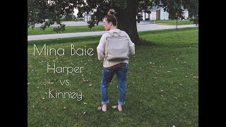 MINA BAIE COMPARISON: HARPER & KINNEY/ DIAPER BAG COMPARISON