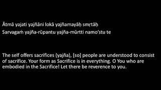 Aṣṭamūrti Stotram