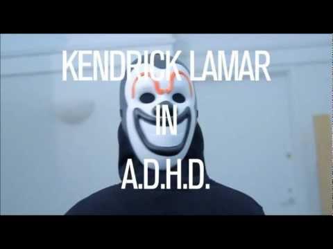 Kendrick Lamar - A.D.H.D (HD LYRICS)
