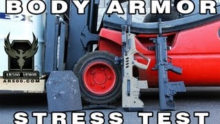 AR500 Armor Body Armor Stress Test