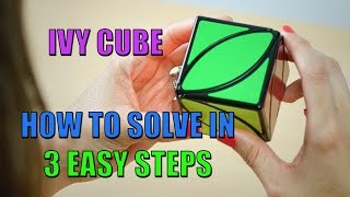HOW TO SOLVE THE IVY CUBE IN 3 EASY STEPS! FT. MY WIFE