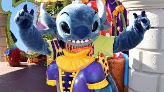 Stitch Halloween Meet & Greet at Disneyland Paris 2018 at Costume Corner - Disney Character