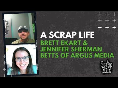 A Scrap Life: Episode 16   Jennifer Sherman Betts of Argus Media