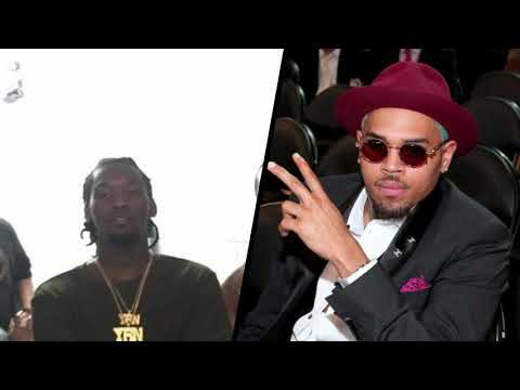 Offset warns Chris Brown about coming for Cardi B