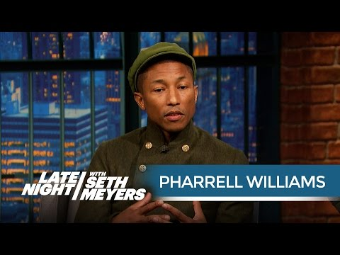 Pharrell Williams' Michael Jackson Story - Late Night with Seth Meyers