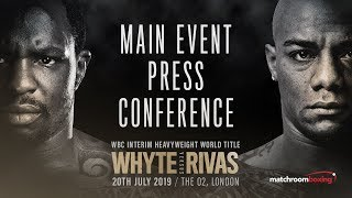 Dillian Whyte vs Oscar Rivas final press conference