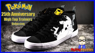 Pokémon: 25th Anniversary High Top Trainers (Akedo - Limited Edition) | Unboxing | MyKeyReviews