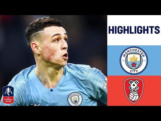 Man City Run Riot with SEVEN Goals! | Manchester City 7-0 Rotherham United | Emirates FA Cup 18/19