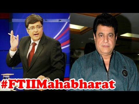 #FTIIMahabharat: Bollywood fights 'Yudhisthira' : The Newshour Debate (9th July 2015)