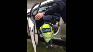 garda ceejay s first arrest