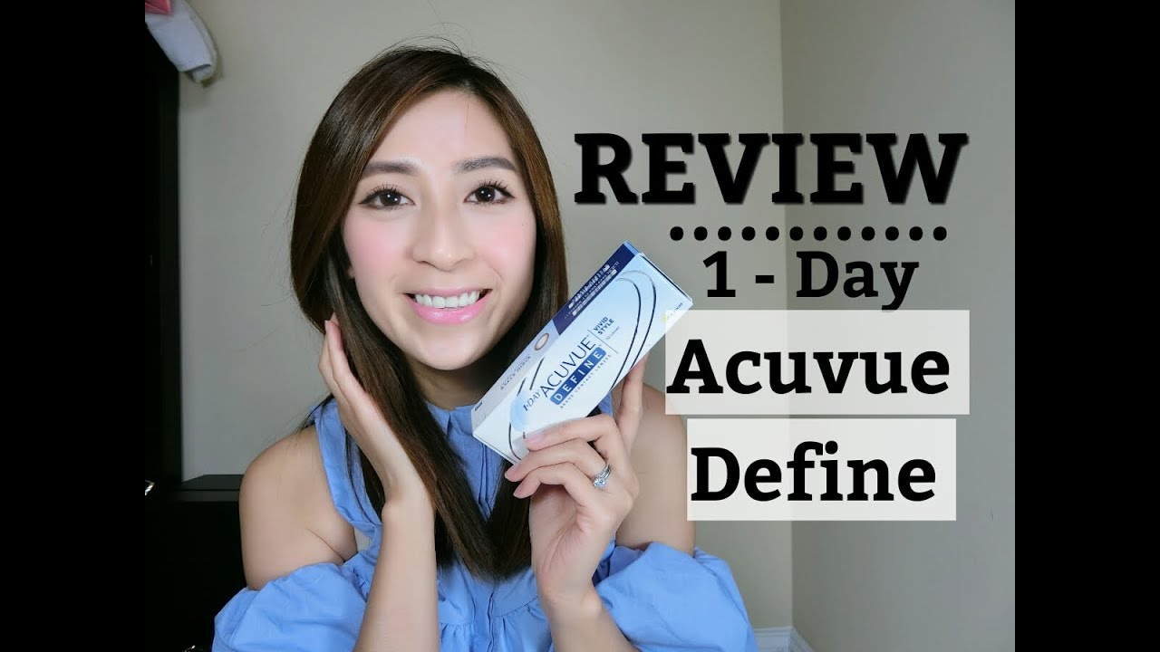 Free Contact Lens Trial >> 1-DAY ACUVUE DEFINE Contacts Review – VIVID STYLE: Lee Min ...