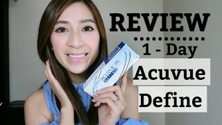 1 day acuvue define contacts review vivid style lee min jung contact lenses   minimalist style