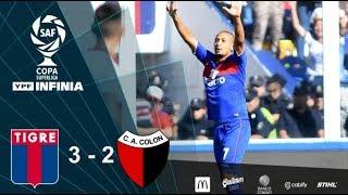 #CopaSuperliga: resumen de Tigre - Colón