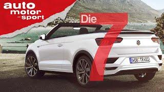 Von Käfer bis T-Roc - 7 Fakten zur VW-Cabrio-Tradition | auto motor und sport