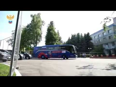 🇷🇺 Russia Arrival at St. Petersburg | Match vs Egypt | World Cup 2018 🏆