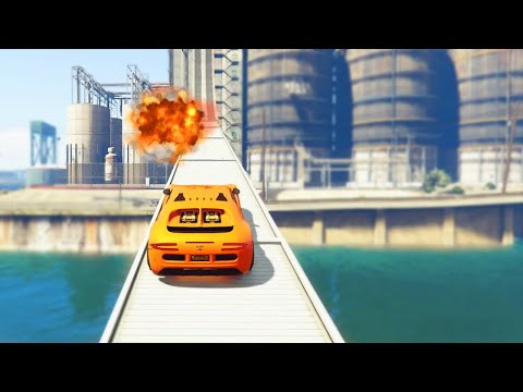 PROXIMITY MINE TROLL RACES (GTA 5 Funny Moments)