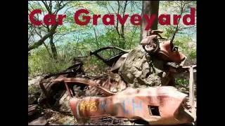 Abandoned Old Car Graveyard In Niagara Falls Gorge