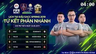 trc tip vng knockout t kt phn nhnh eacc spring 2019 fifa online 4