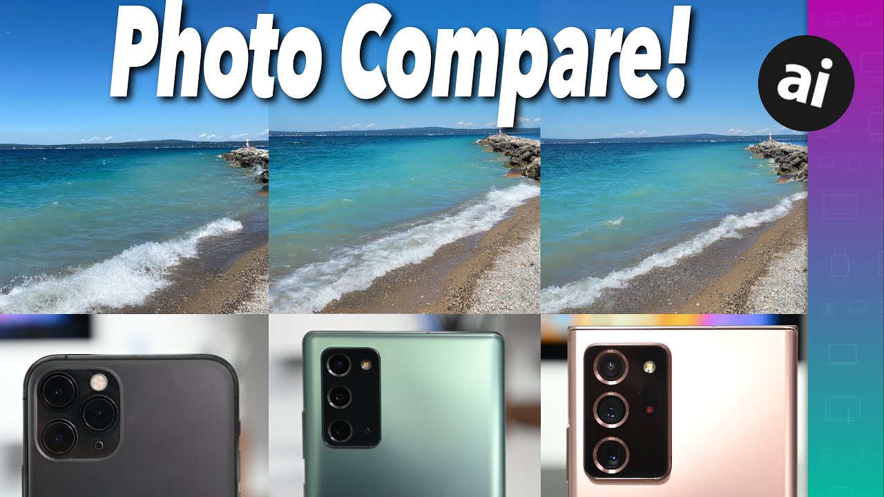 Photo quality comparison: Samsung Galaxy Note 20 versus iPhone 11 Pro