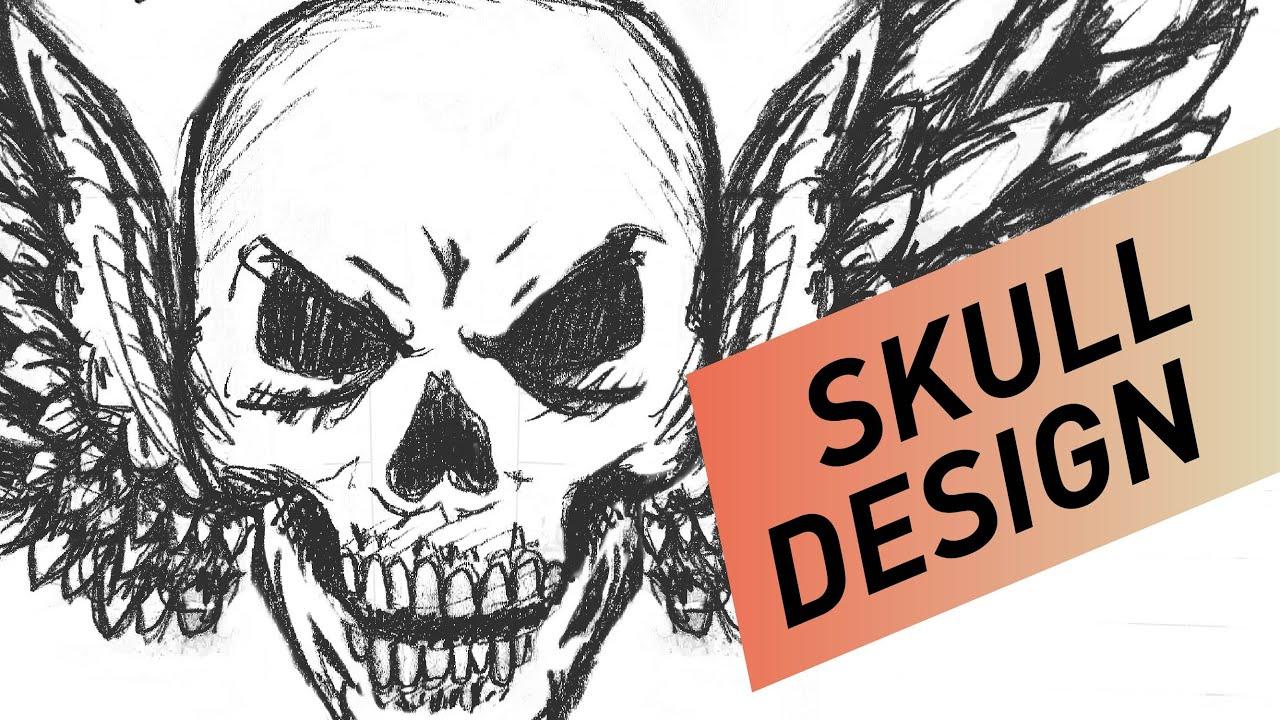Design t shirt using photoshop - T Shirt Design Skull Using Photoshop Illustrator French Subtitles