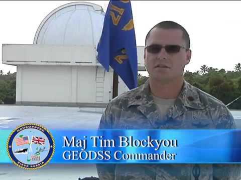 AFN Diego Garcia News Break GEODDS  (Ground Based Electro Optical Deep Space Surveillance)