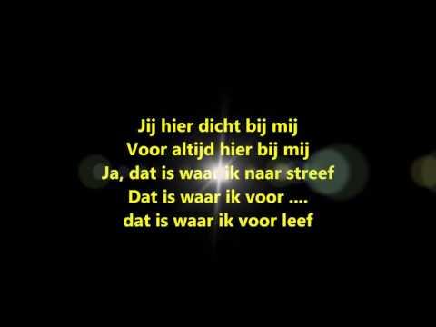 Kris De Bruyne - Waar Ik Voor Leef (with on-screen LYRICS)