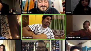Nilotpal Bora ❤️ Clip from TVF's charity stream.