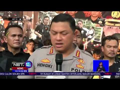 Polisi Tangkap 183 Perusuh Bayaran Pada Aksi Massa 22 Mei NET12