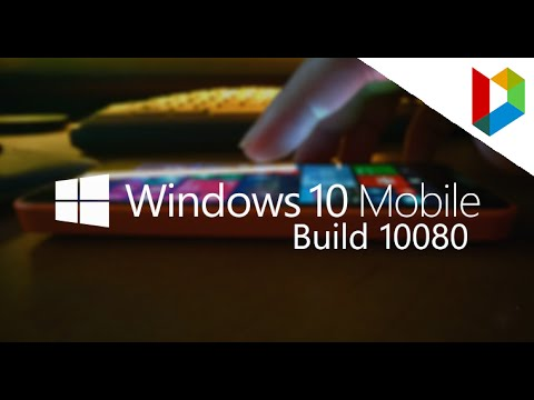Windows 10 Mobile Build 10080 | Preview And Tour