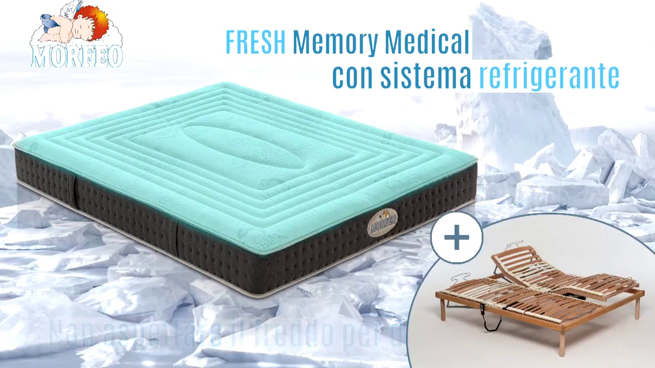 Materasso Morfeo Memory Prezzi.Materasso Medical Fresh Youtube