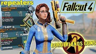 Fallout 4 Mods - BL GUNS Update: Repeaters BETA - Fallout 4 Borderlands Mods