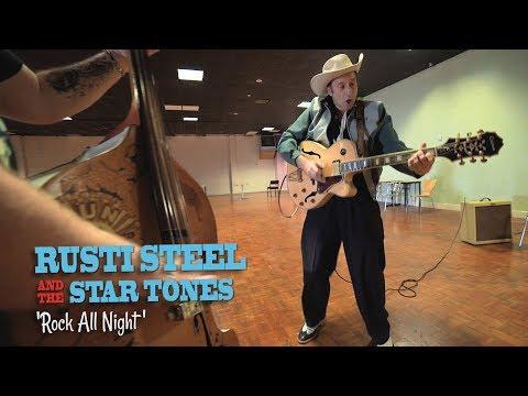 'Rock All Night' Rusti Steel & The Star Tones (bopflix sessions) BOPFLIX