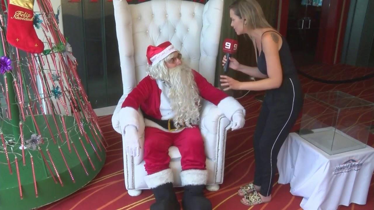 Papa Noel Youtube El mensaje de Papá Noel desde el Mayorazgo   YouTube
