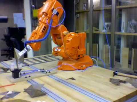 Robot Bend Sheet Metal Two Gripper Youtube