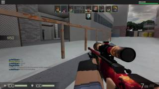 Roblox CB:RO moments - Awp triple