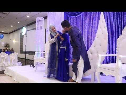 Maryam Is Honored By Her Parents For Becoming Hafiza (حافظة)