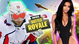 Hockey Player Gets FREAKY with a FAKE GIRL on FORNITE!!! (GIRL VOICE TROLLING)