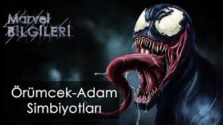 Örümcek Adam'ın kaç simbiyotu var ?